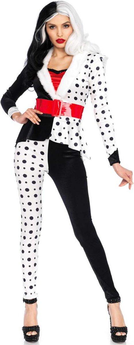 19f1033854b29f Diva Villain kostuum - L - Zwart