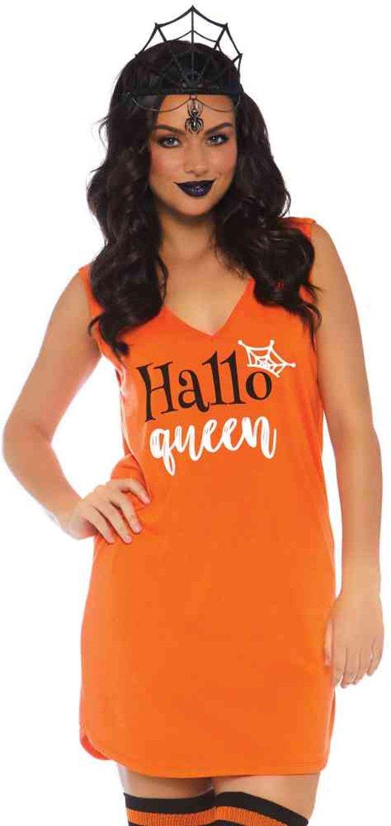 f243c231703304 HalloQueen jersey jurk ...