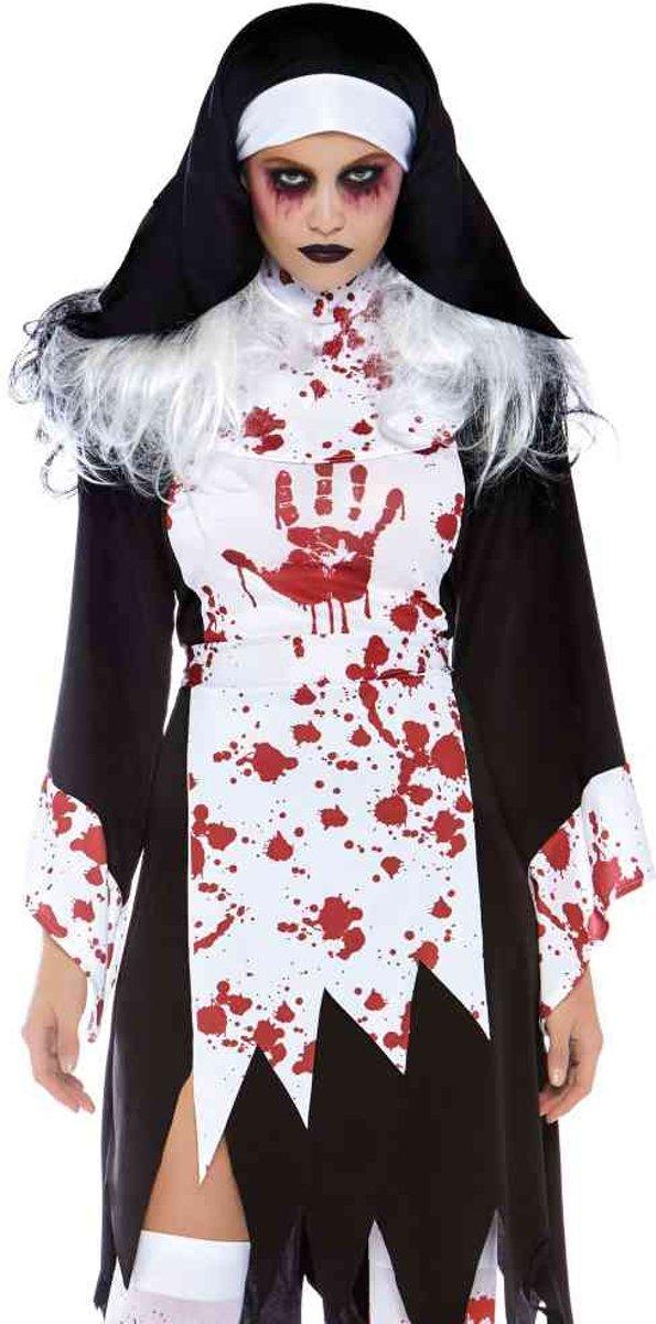 9bfbf524d1a333 Killer Nun dames kostuum zwart wit - XL - Leg Avenue