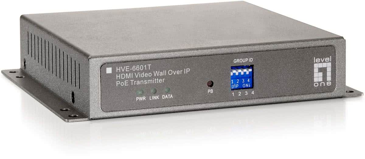 HDMI Video Wall over IP PoE Transmitter