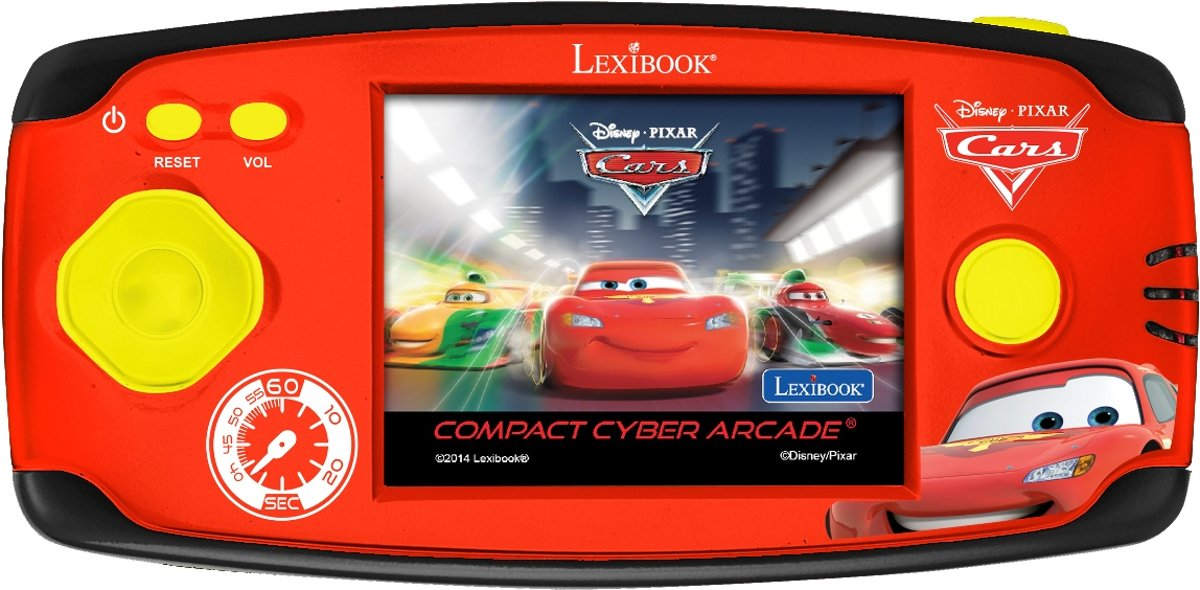 Disney Cars - Compact Cyber Arcade® - rood