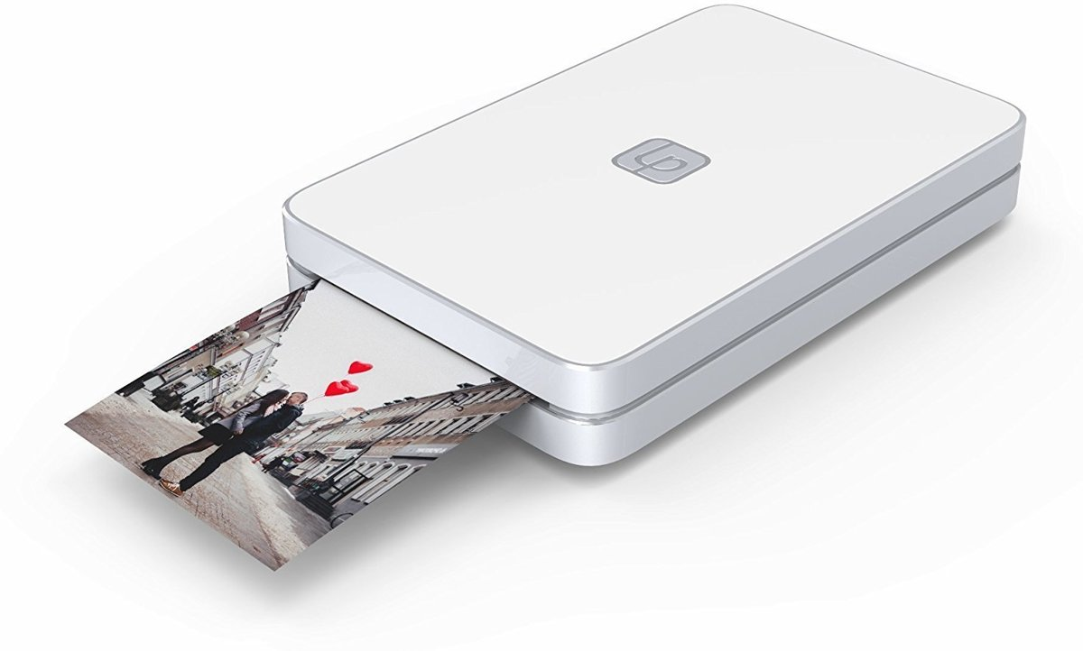 Mobiele fotoprinter 2x3 Foto en Video - Wit