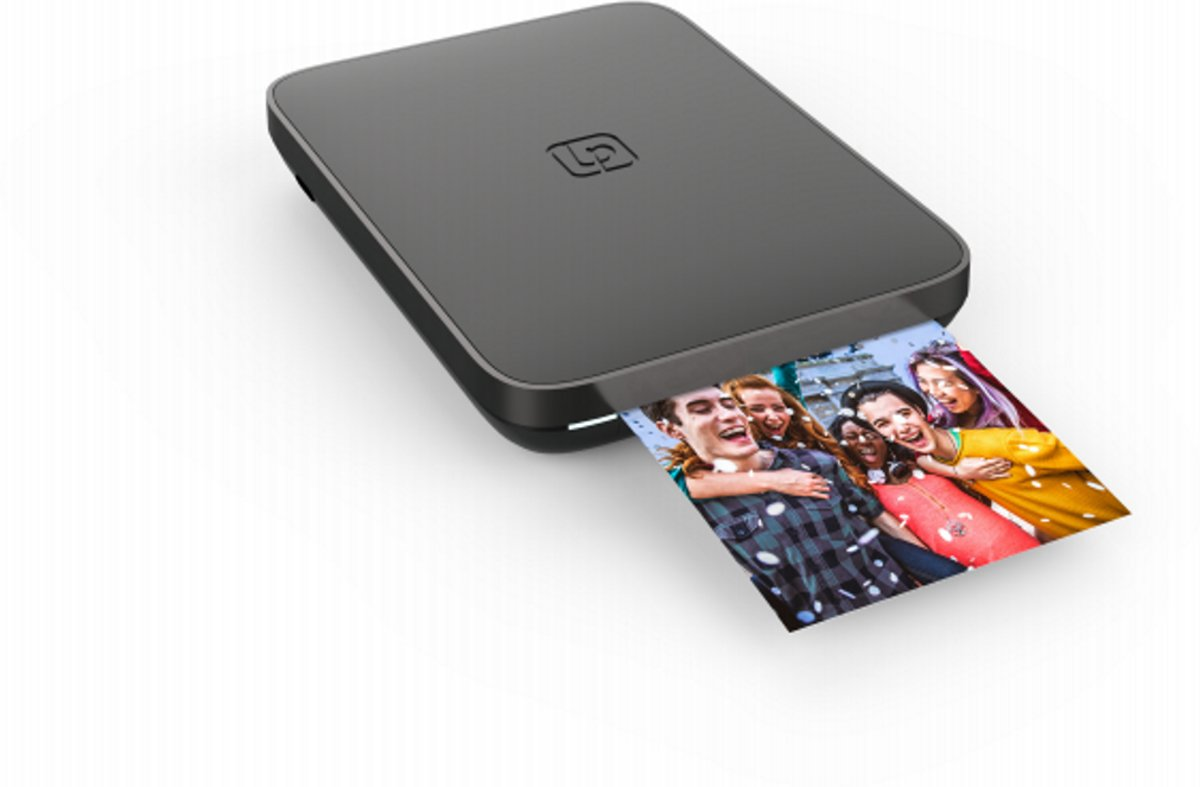 Mobiele fotoprinter 3x4.5 Foto en Video - Zwart