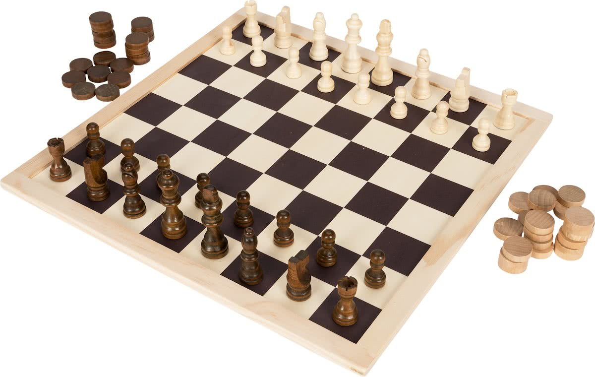 Chess and Checkerset WD 73pc