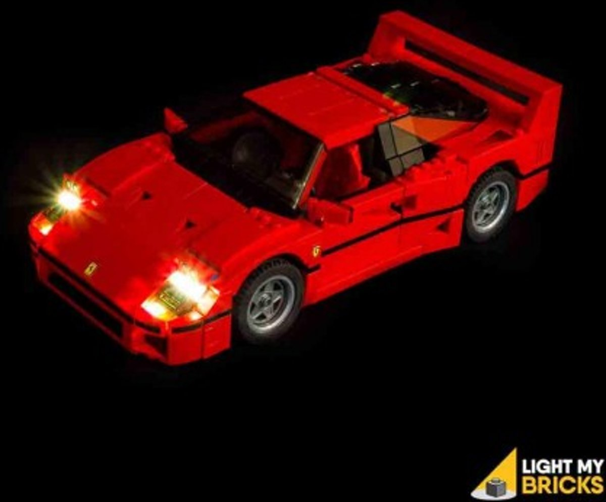 Light My Bricks LEGO Ferrari F40 10248 Verlichtings Set