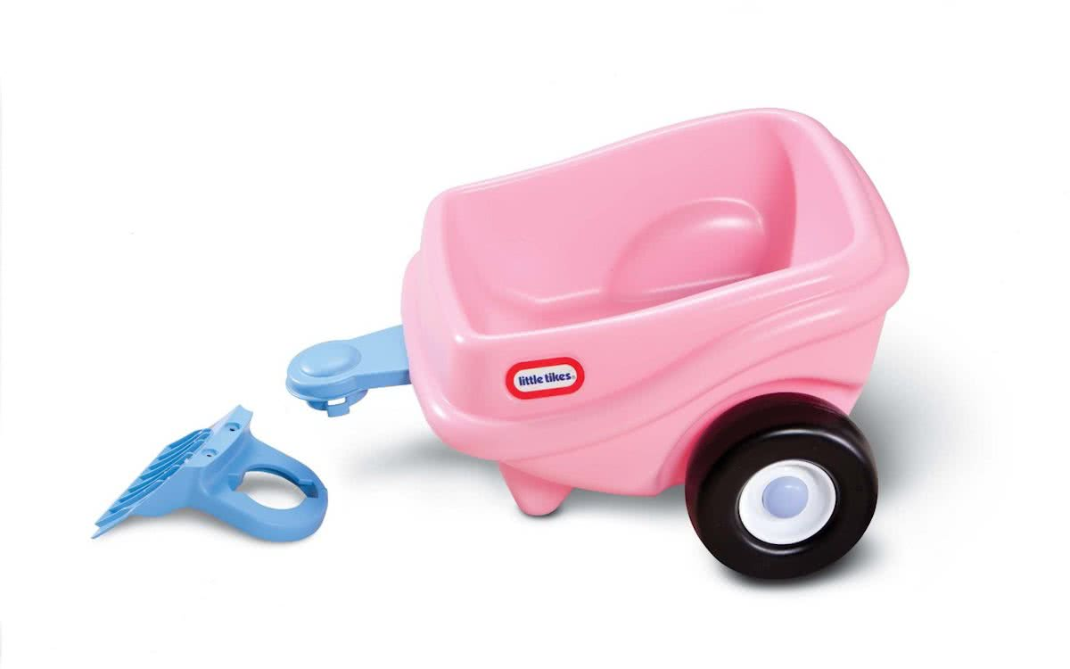 Little Tikes Princess Cozy Coupe Aanhangwagen - Roze