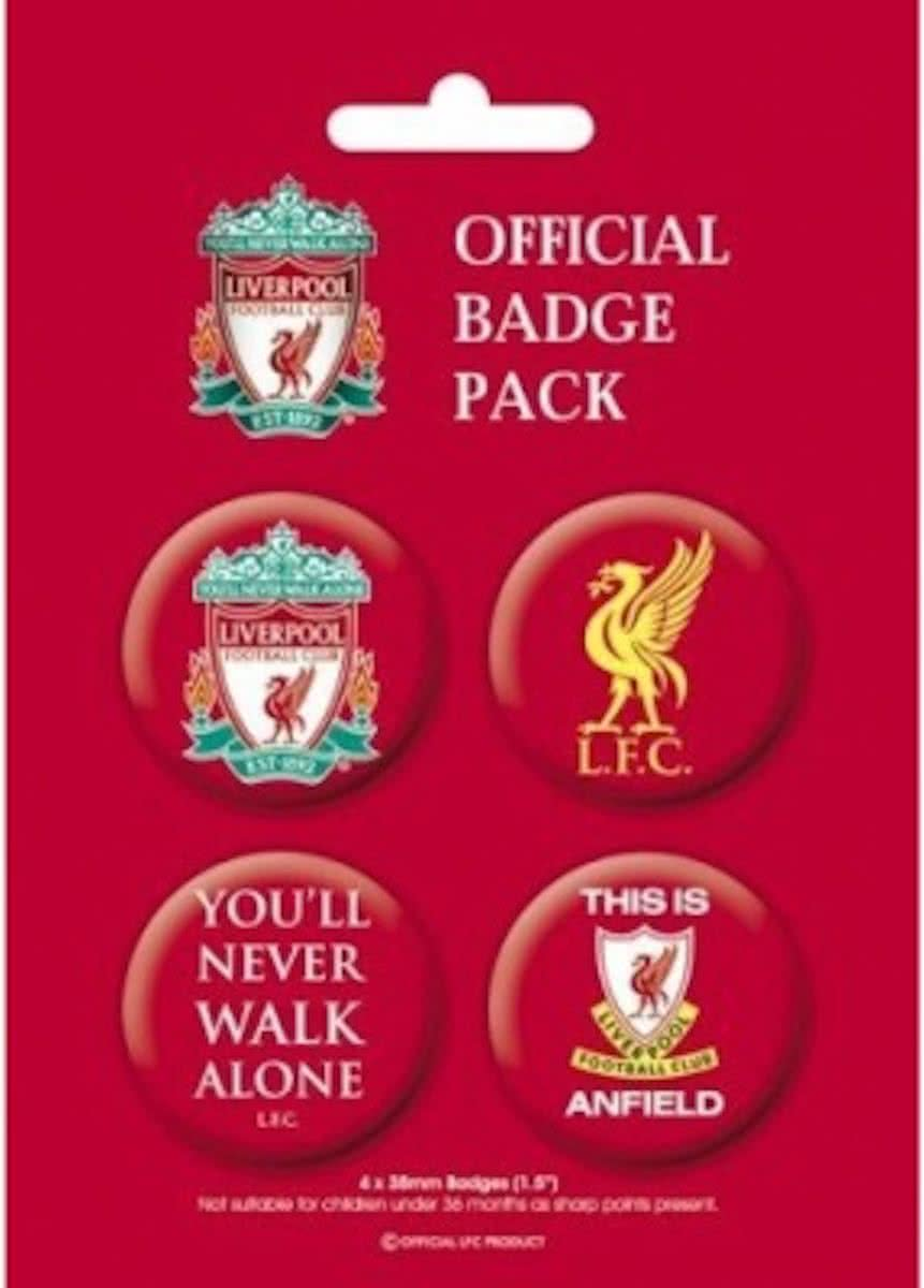 Liverpool Football Club  s - Official Badge Pack