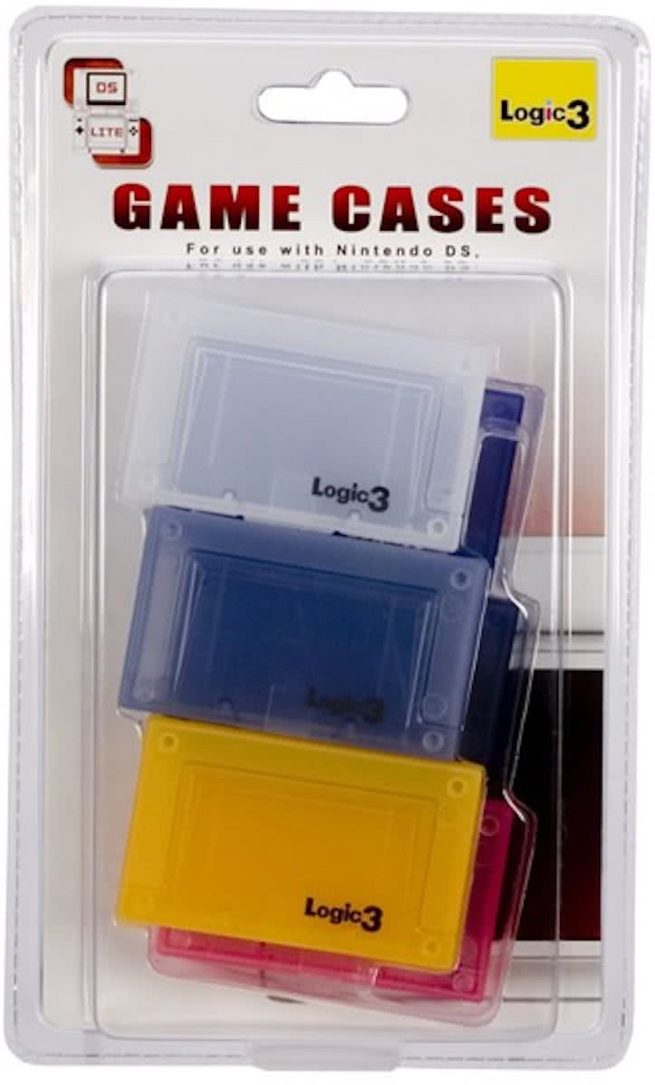 6 Game Cases Nds (Logic3)
