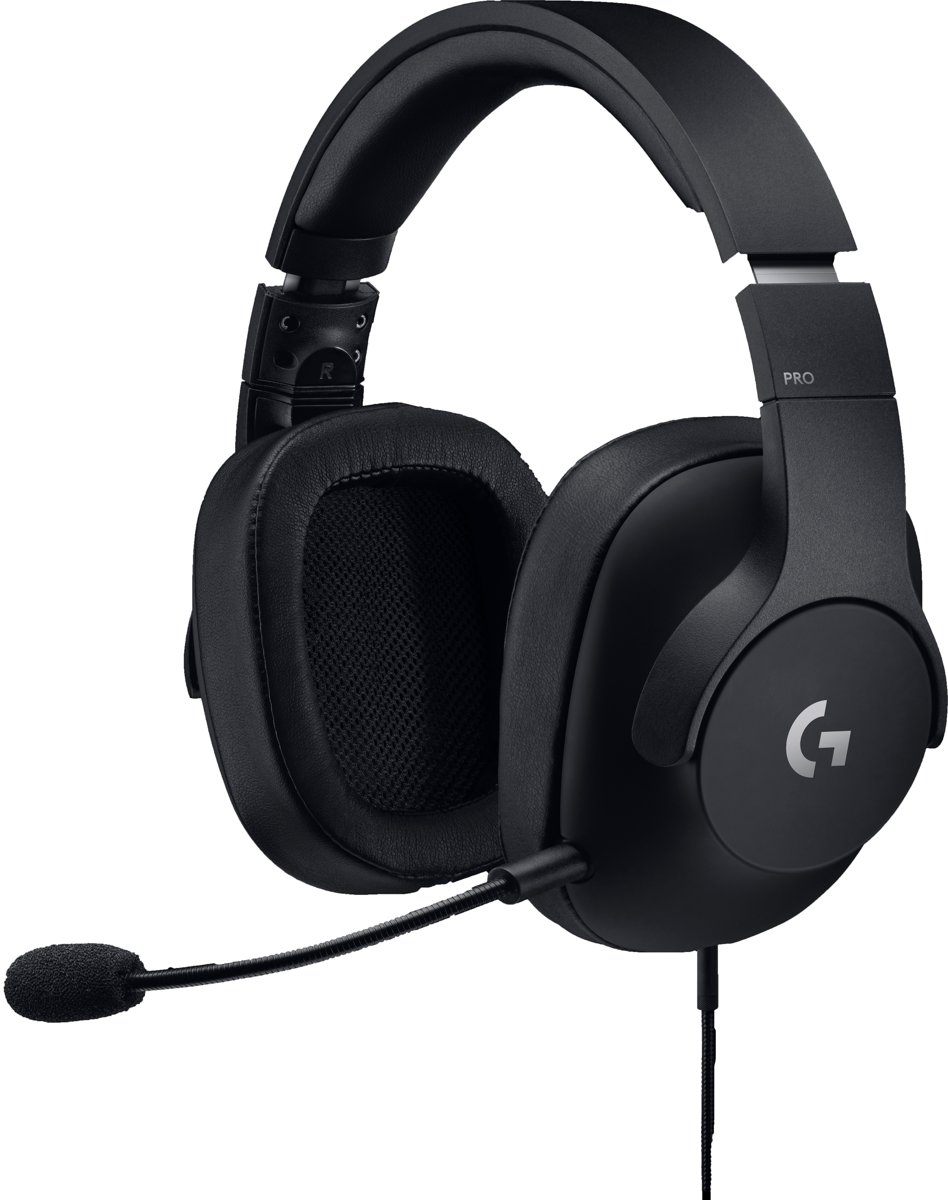 Logitech G PRO - Professionele Gaming Headset - PC + PS4 + Xbox One