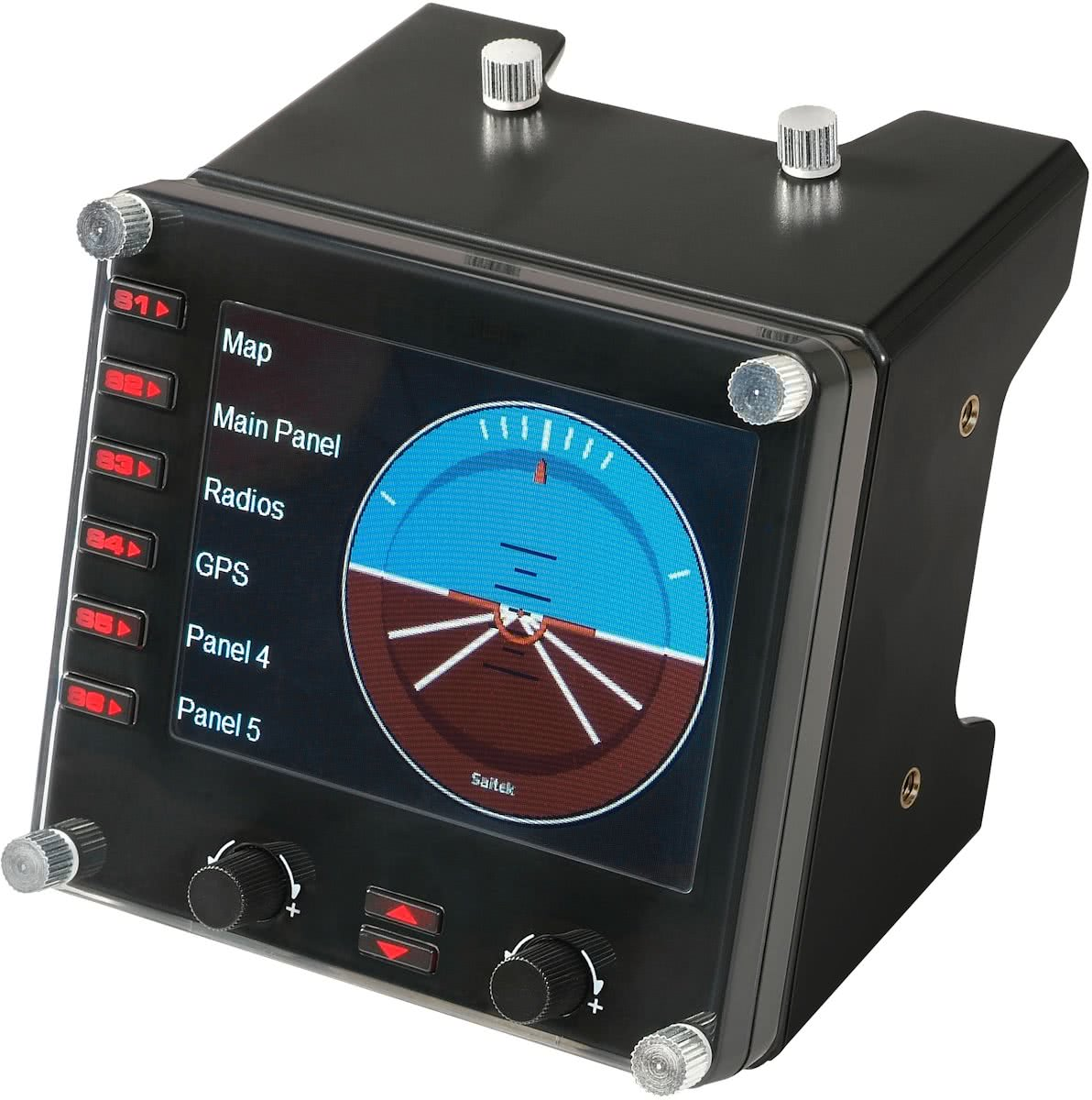 Saitek Pro Flight Instrument Panel Zwart PC