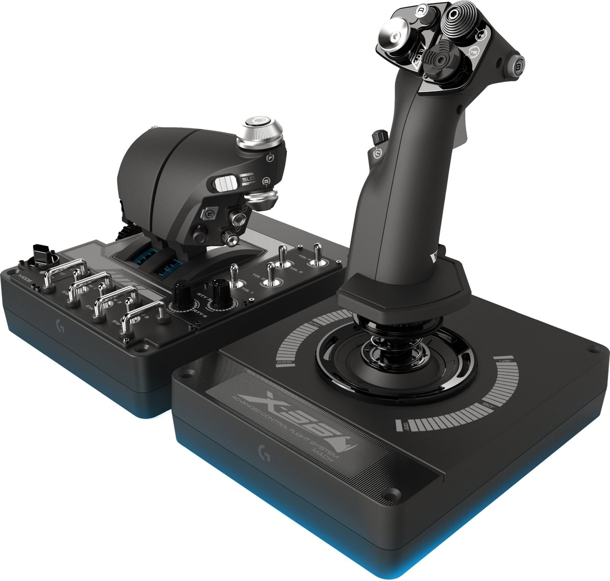Saitek Pro Flight X56 Rhino - Flight Joystick - PC
