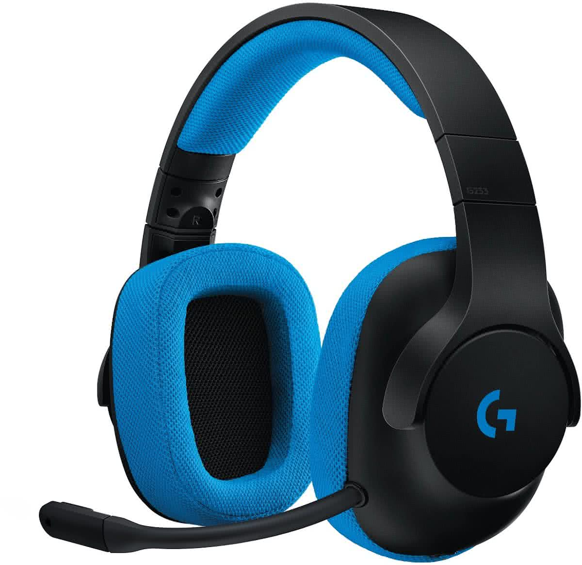 Logitech G233 - Prodigy Gaming Headset - Pc + PS4 + Xbox One + Nintendo Switch