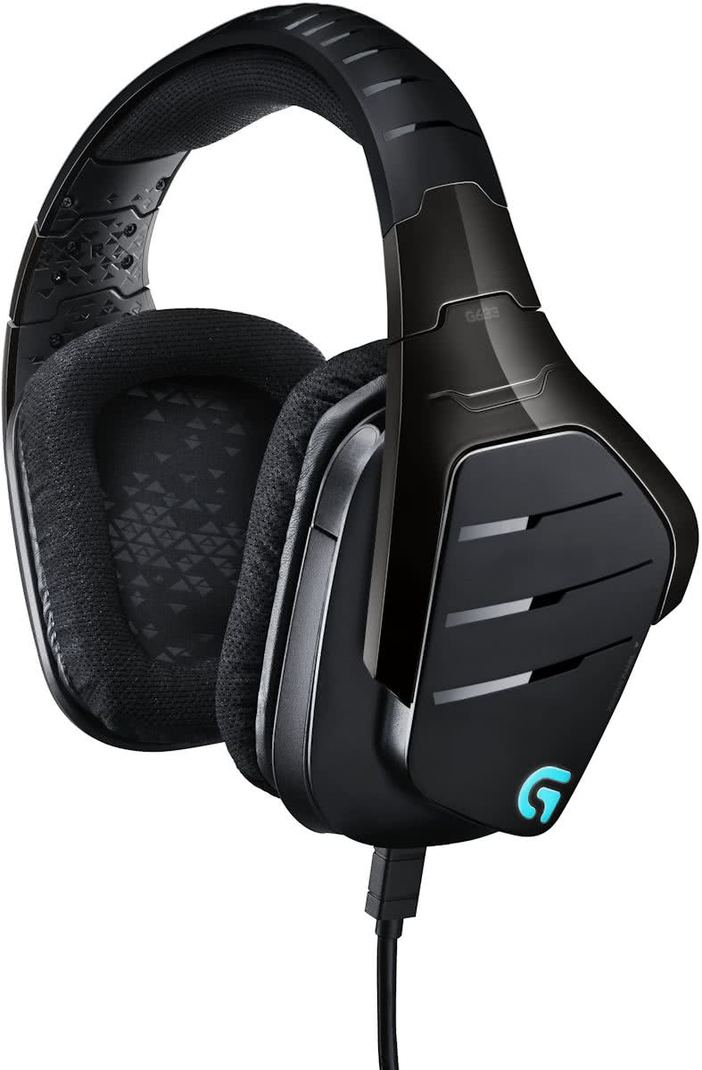 Logitech G633 Artemis Spectrum - RGB - 7.1 Surround Gaming Headset - PC + PS4 + Xbox One