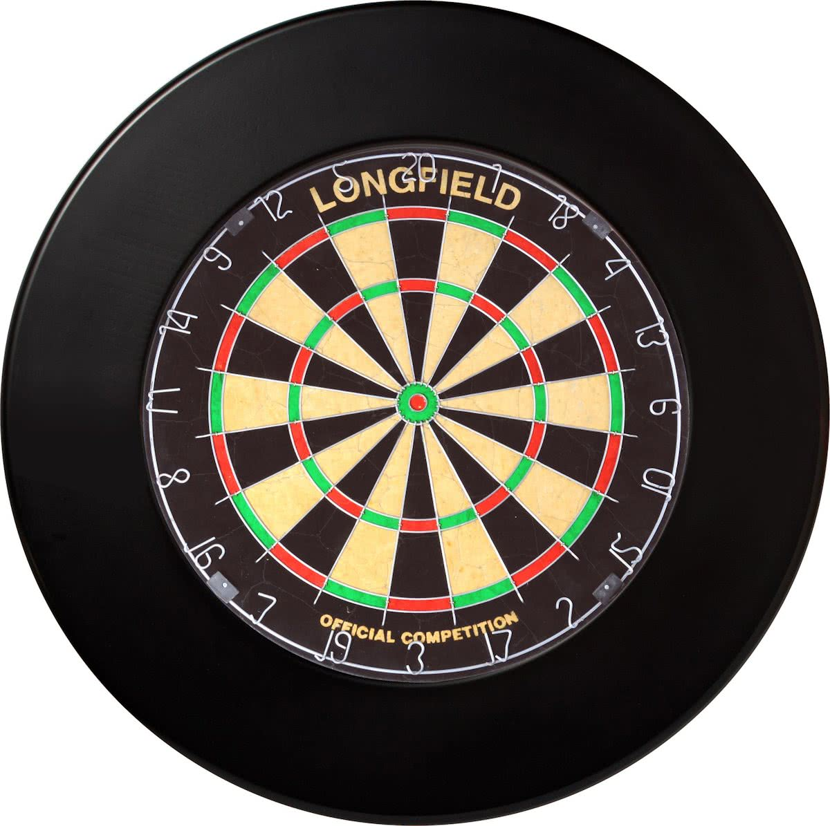 Longfield Dartbord Surround PU Zwart