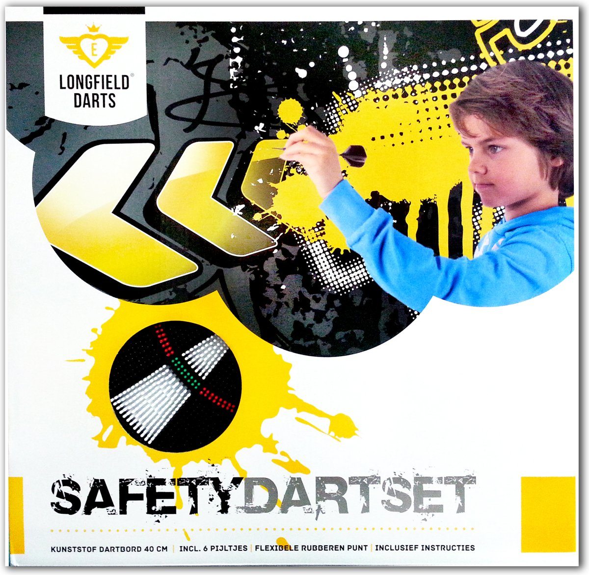 Longfield Darts Safety Dartset Dartbord