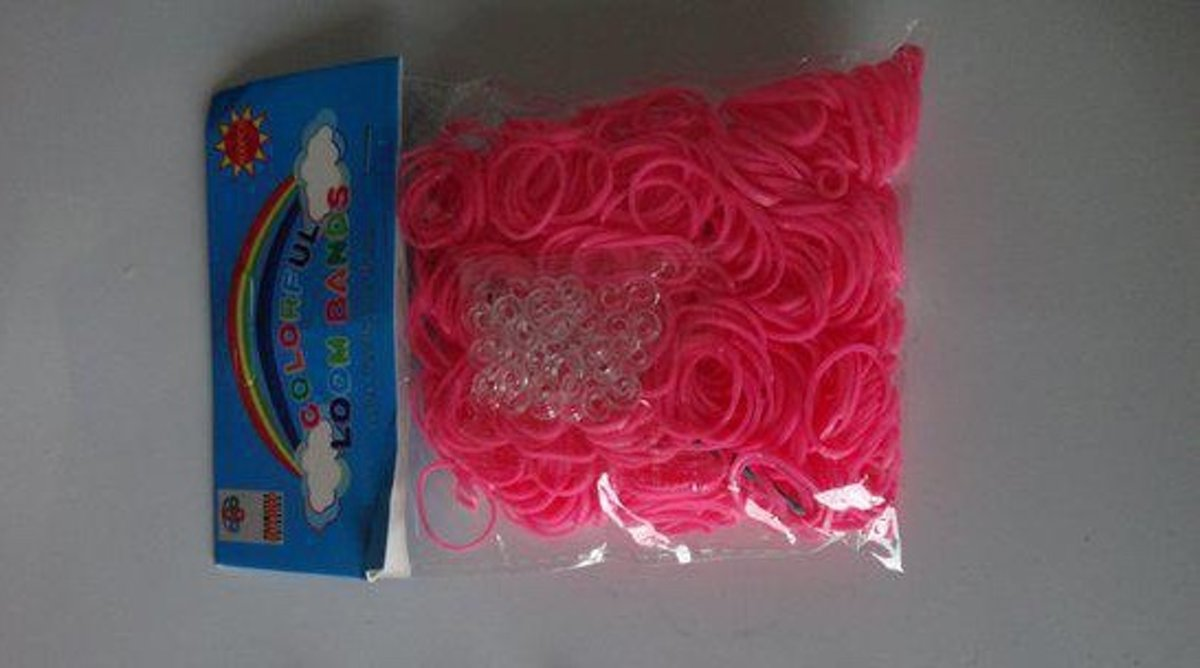 Loom Bands Colorful Roze, A- Kwaliteit
