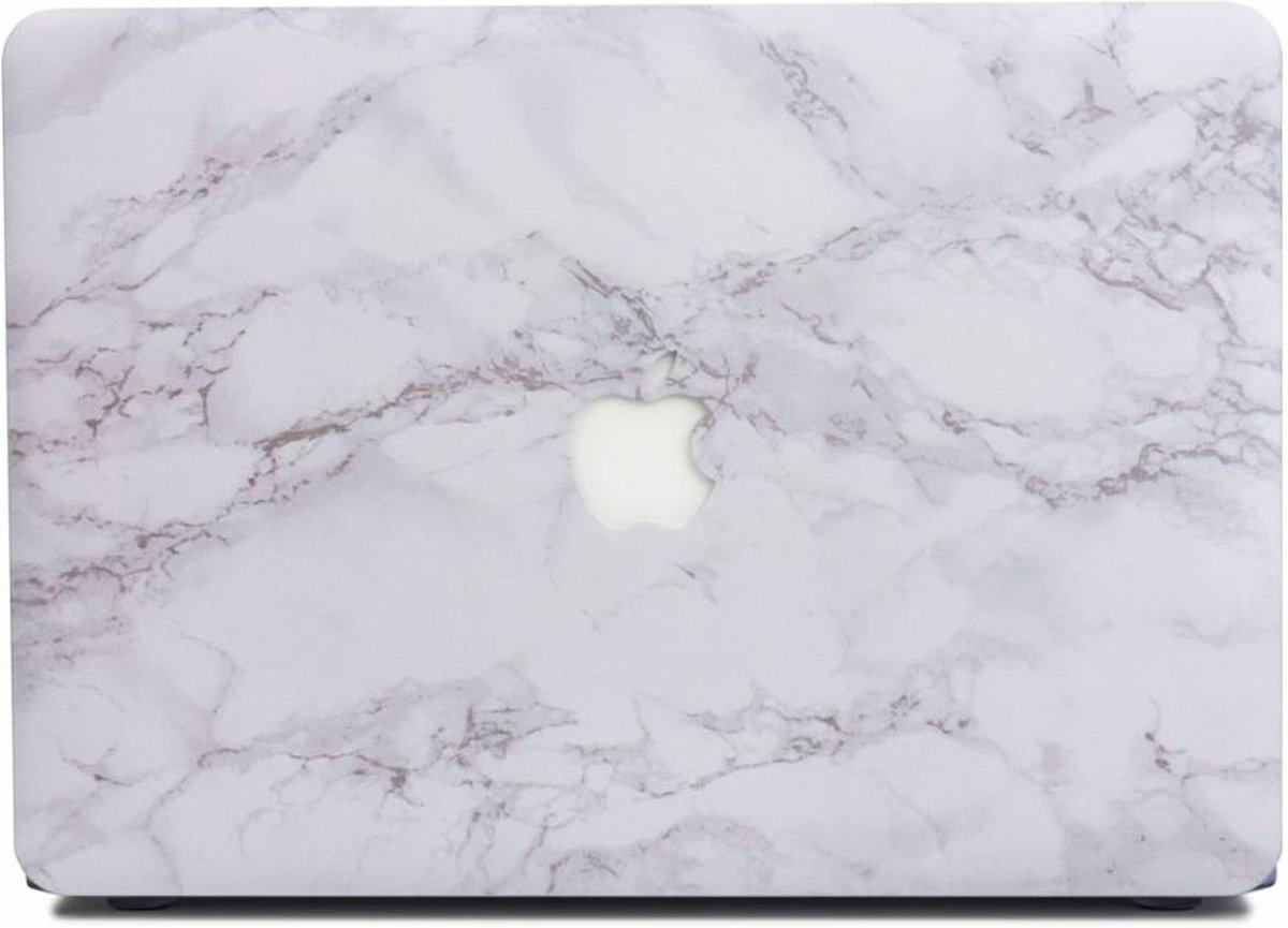 Lunso - cover hoes - MacBook 12 inch - Marble Cosette