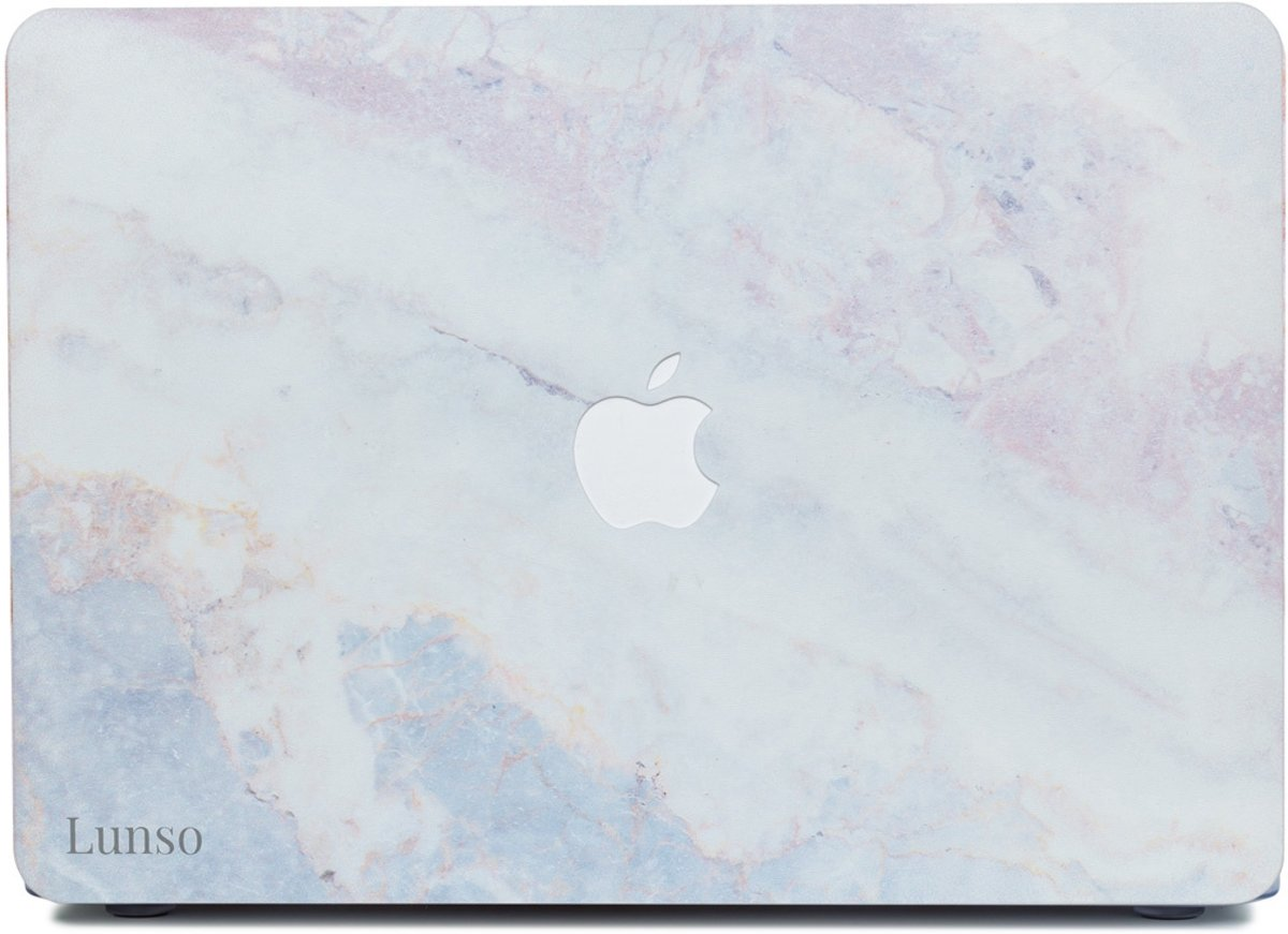 Lunso - cover hoes - MacBook Air 13 inch (2012-2017) - Marble Brees