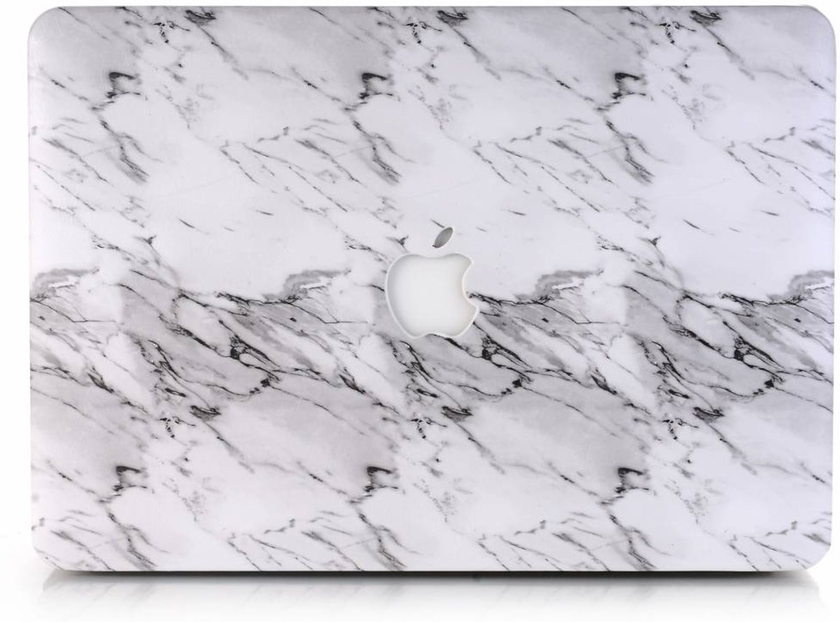Lunso - cover hoes - MacBook Air 13 inch (A1932) - Marble Etta