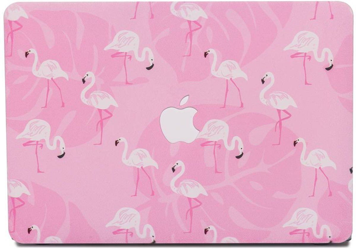 Lunso - cover hoes - MacBook Air 13 inch (A1932/A1989) - Flamingo Pink