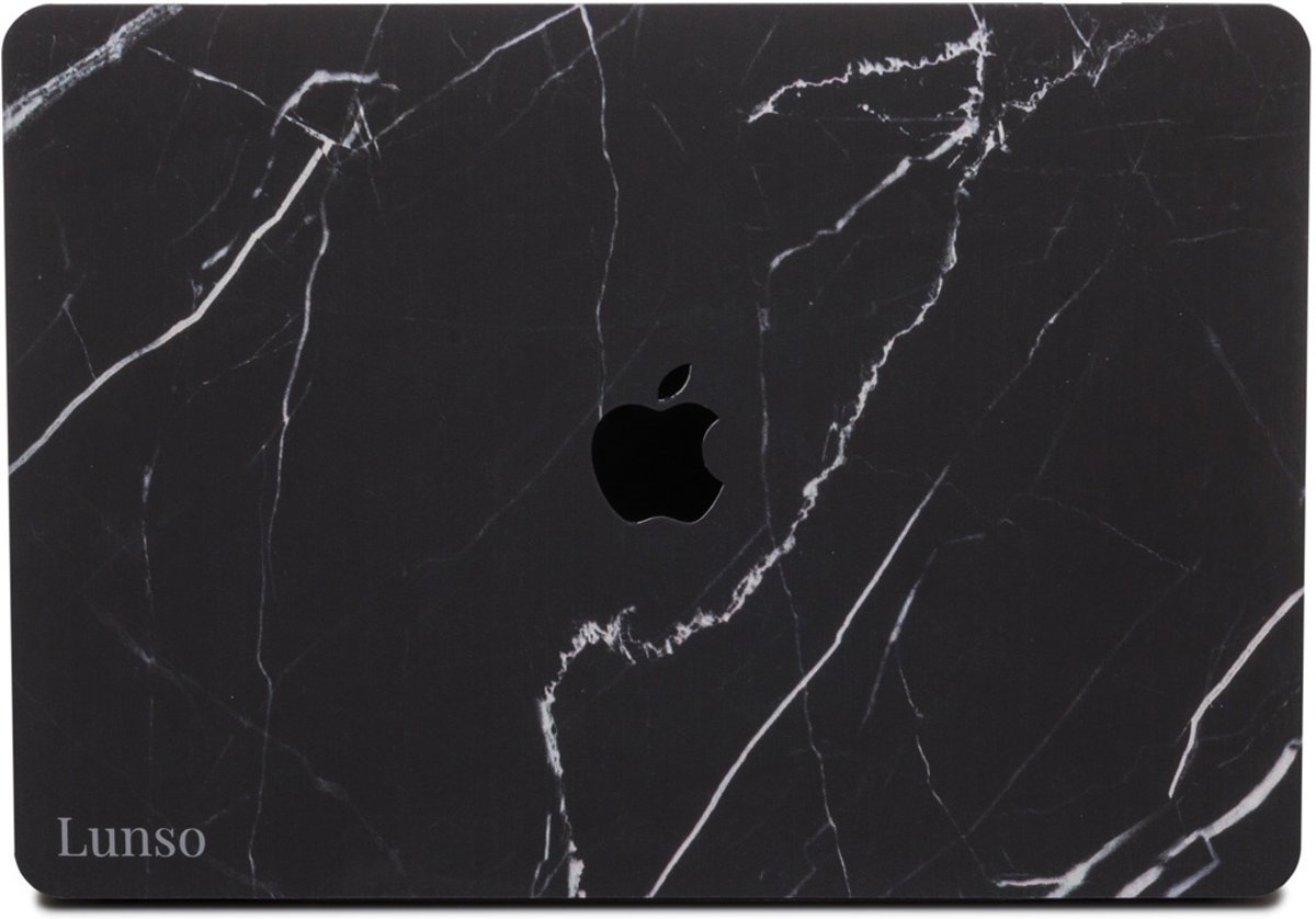 Lunso - cover hoes - MacBook Pro 13 inch (USB-C) - Marble Ace