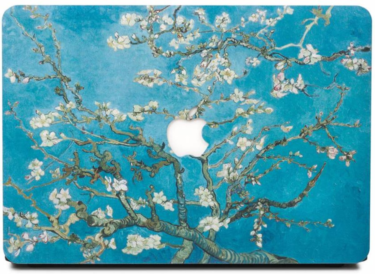 Lunso - cover hoes - MacBook Pro 15 inch (2016-2018) - Van Gogh amandelboom