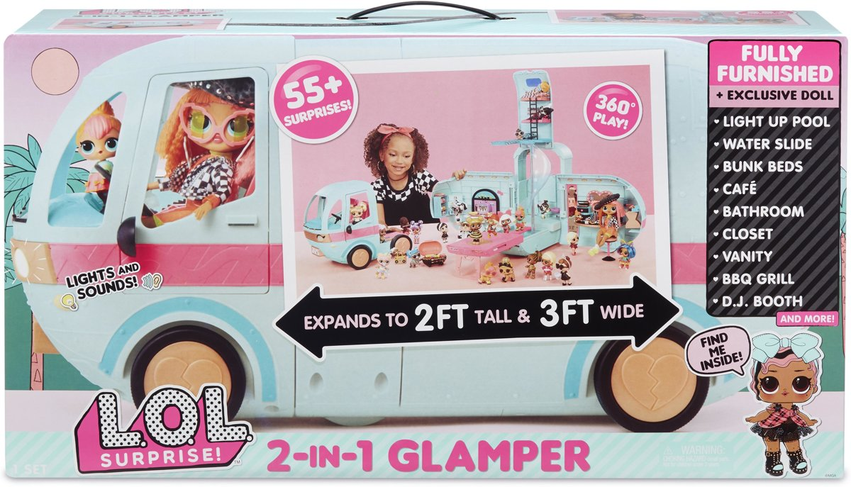 L.O.L. Surprise! 2-in-1 Glamper