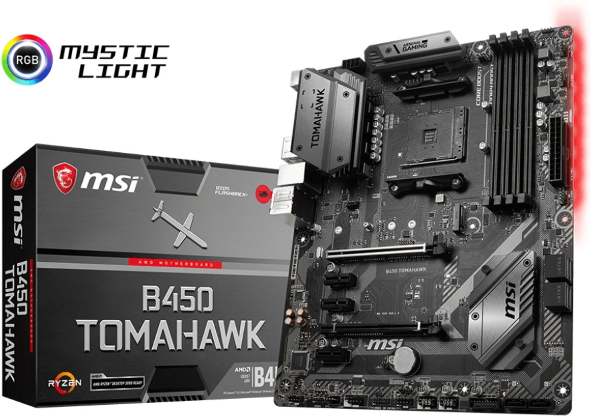 B450 TOMAHAWK Socket AM4 AMD B450 ATX