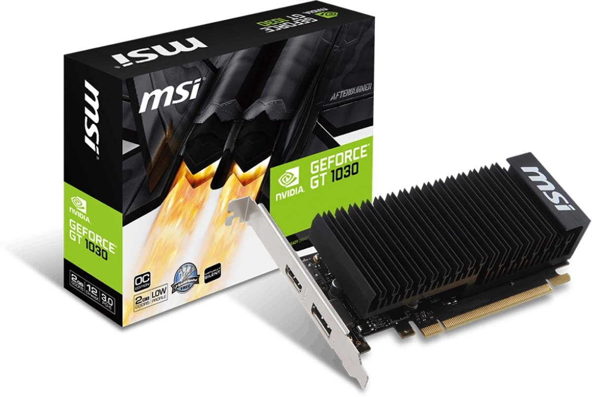 GeForce GT 1030 2GH LP OC GeForce GT 1030 2GB GDDR5