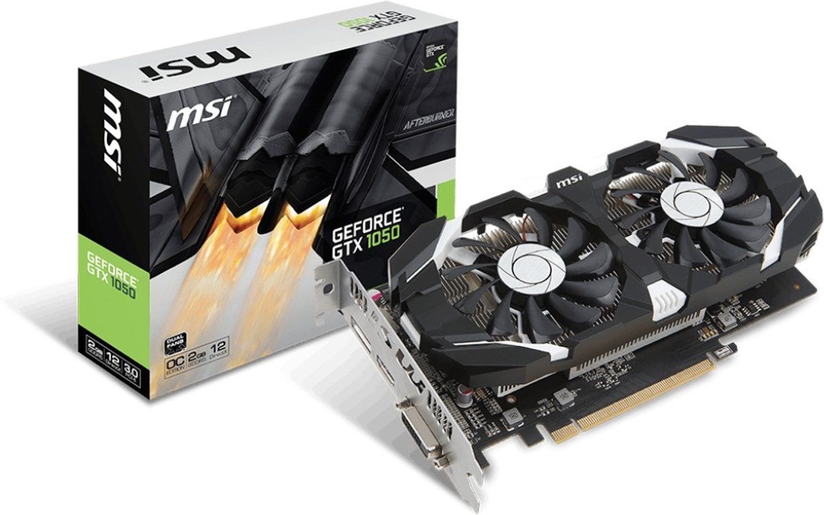 GeForce GTX 1050 2GT OCV1 GeForce GTX 1050 2GB GDDR5