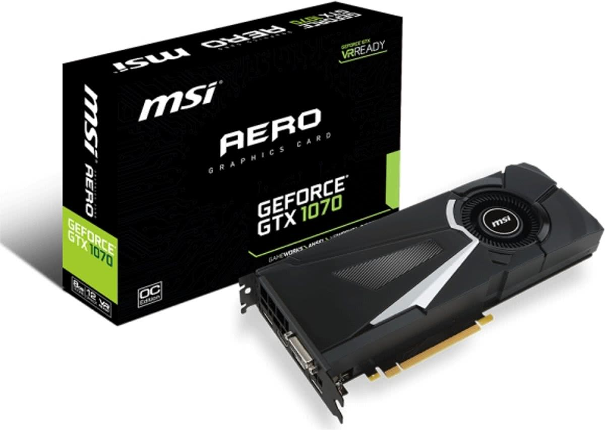 GeForce GTX 1070 AERO OC 8GB