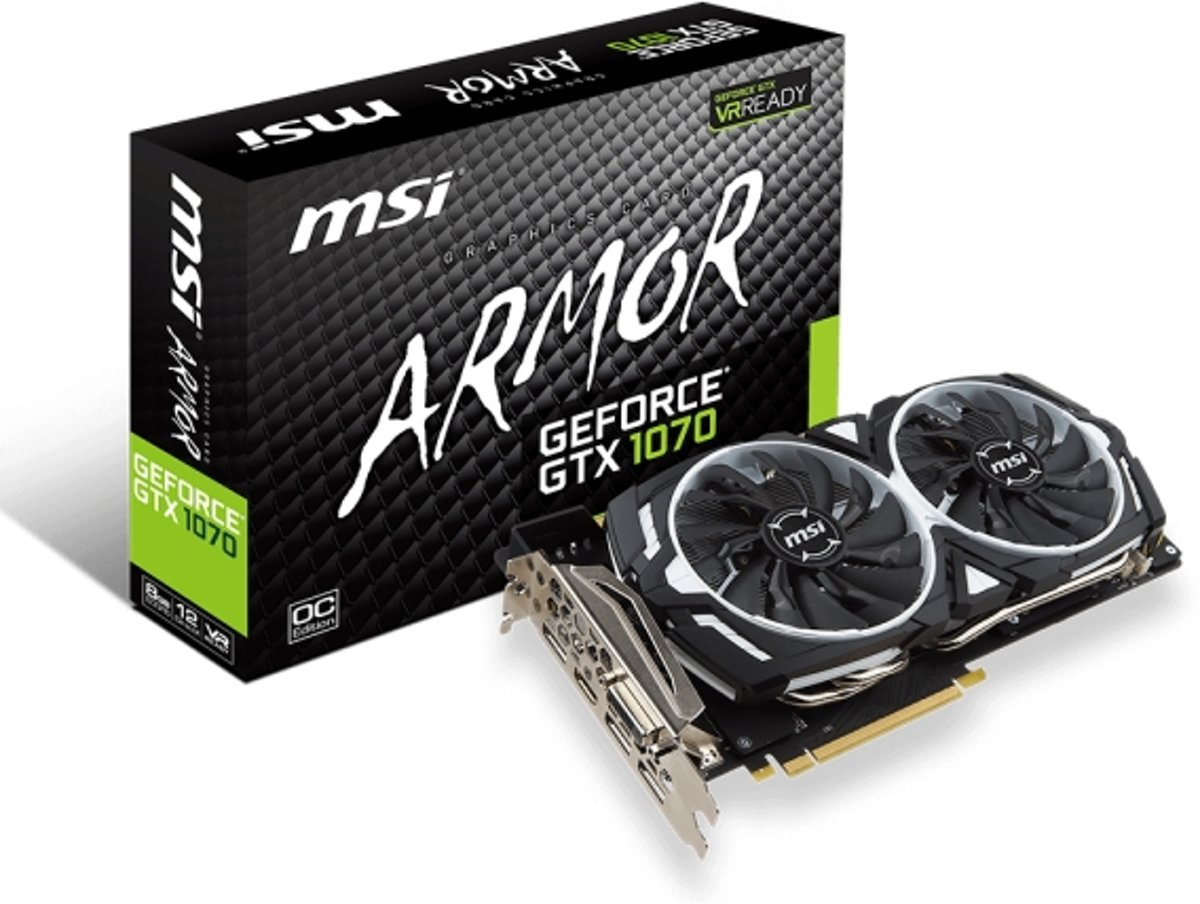 GeForce GTX 1070 ARMOR OC 8GB