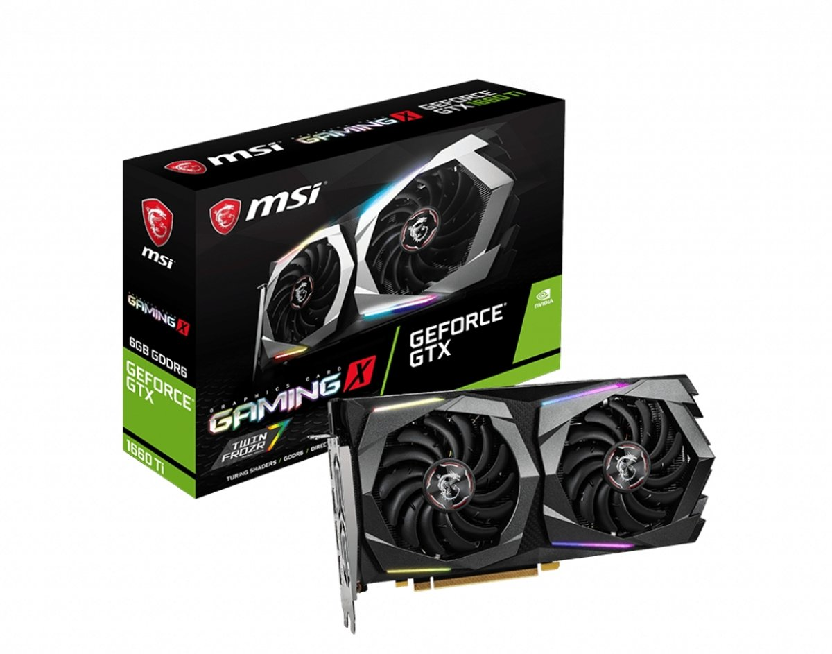 GeForce GTX 1660 Ti GAMING X 6G Grafische kaart