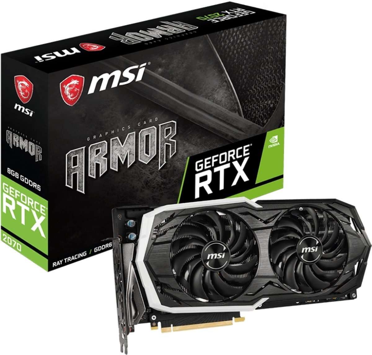 GeForce RTX 2070 ARMOR 8G