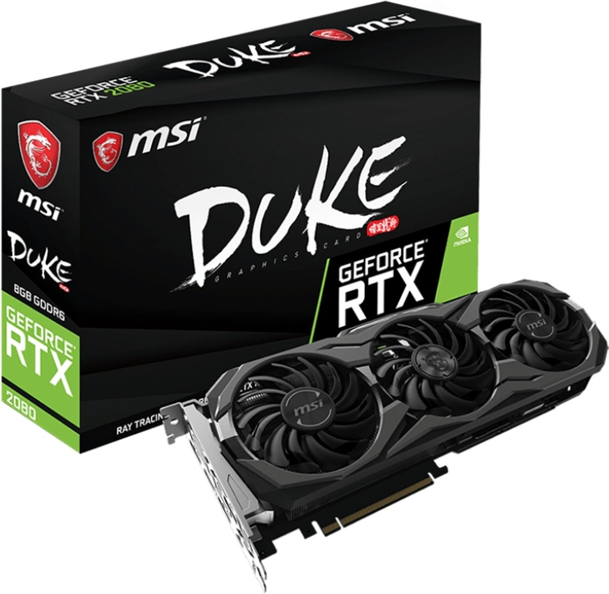 GeForce RTX 2080 DUKE 8G OC