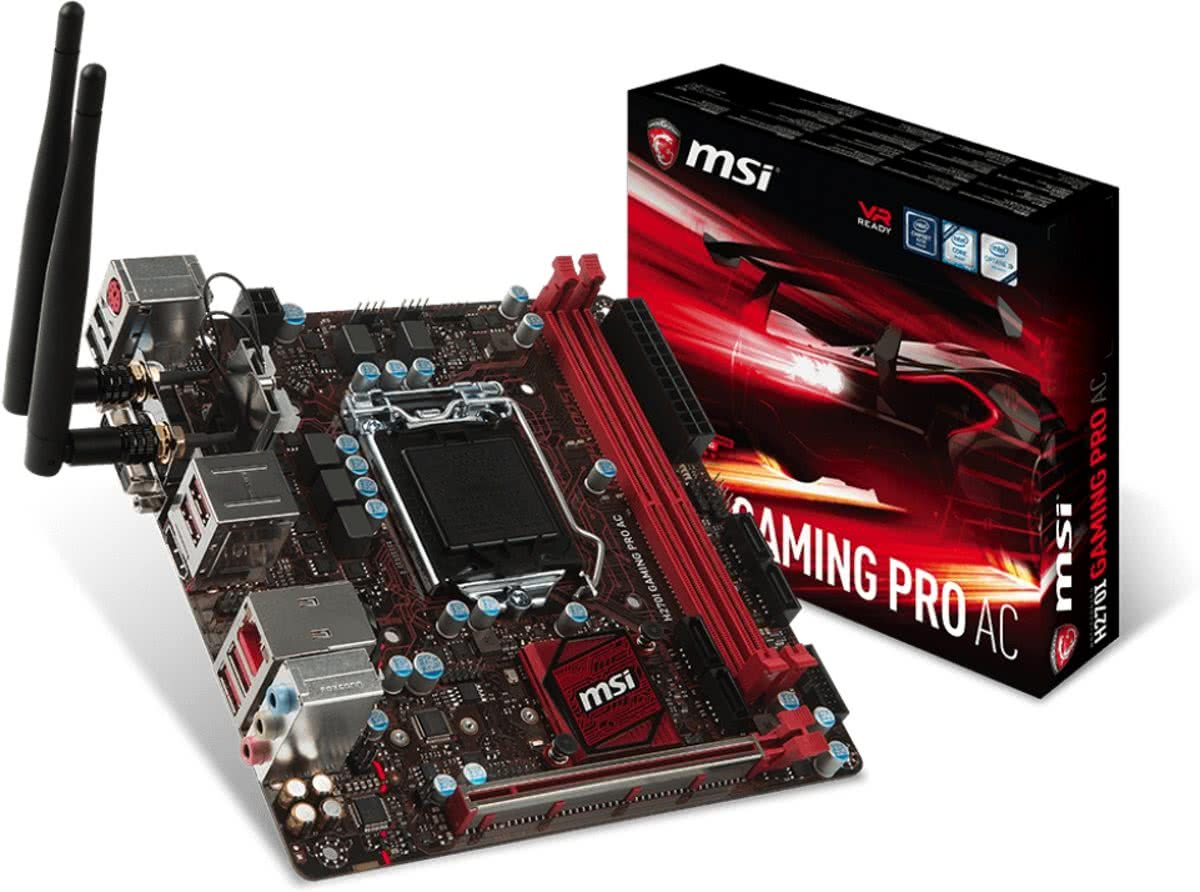H270I GAMING PRO AC Intel H270 LGA 1151 (Socket H4) Mini-ITX moederbord