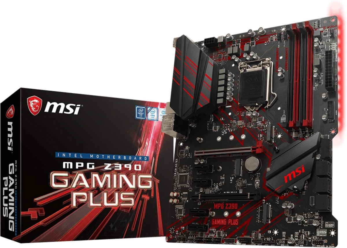 MPG Z390 GAMING PLUS LGA 1151 (Socket H4) Intel Z390 ATX