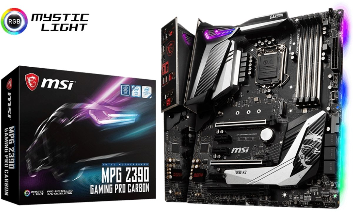 MPG Z390 GAMING PRO CARBON LGA 1151 (Socket H4) Intel Z390 ATX