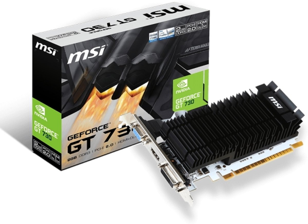 N730K-2GD3H/LP GeForce GT 730 2GB GDDR3