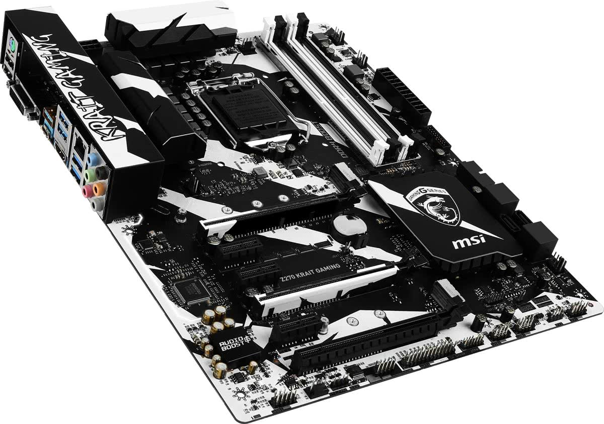 Z270 KRAIT GAMING Intel Z270 LGA 1151 (Socket H4) ATX moederbord