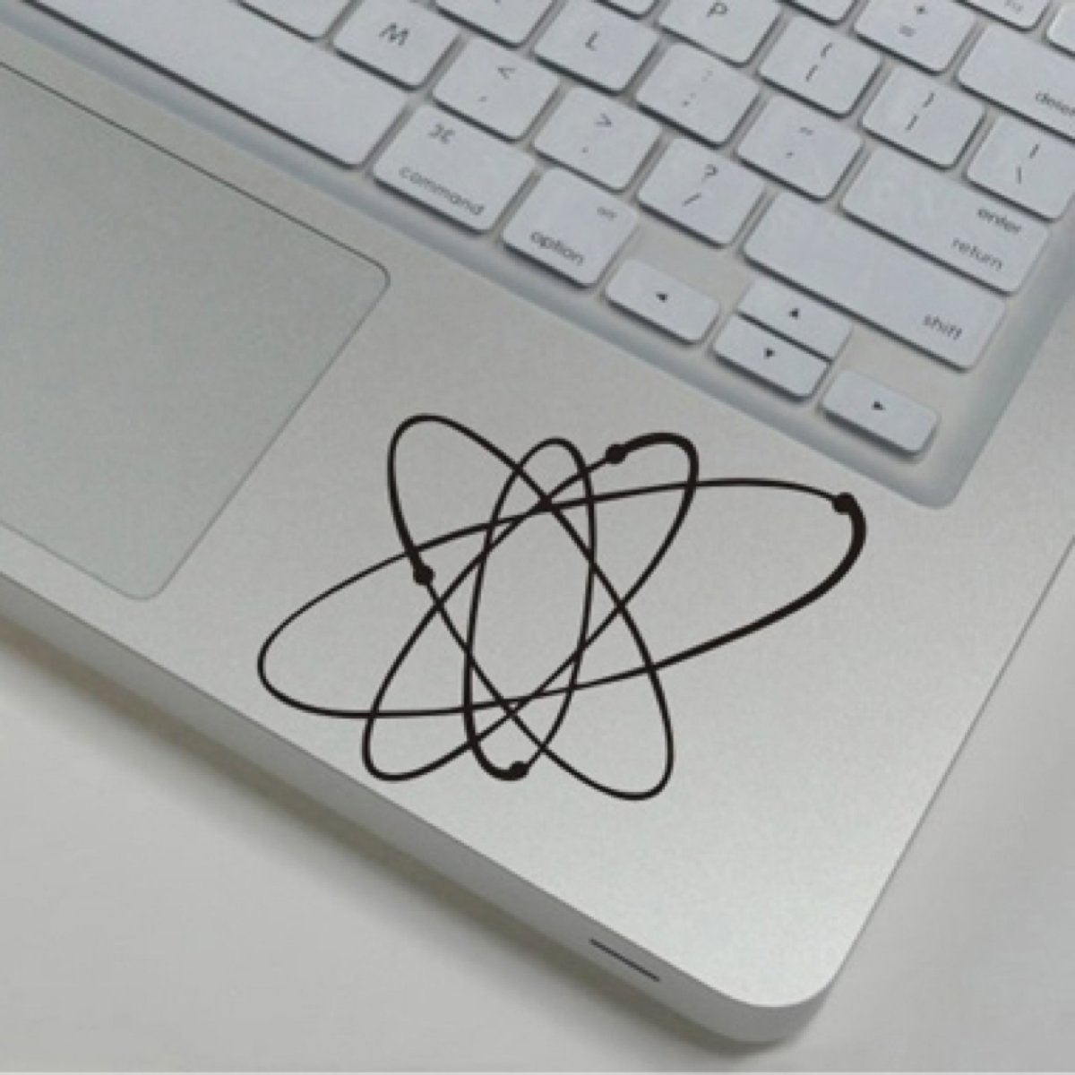 Atoom - MacBook Wrist Decals Skins Stickers Pro / Air