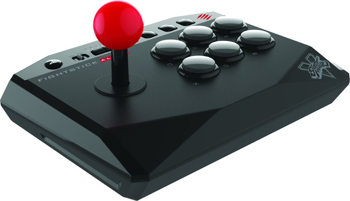 Madcatz Street Fighter V Alpha - FightStick - PS4 + PS3