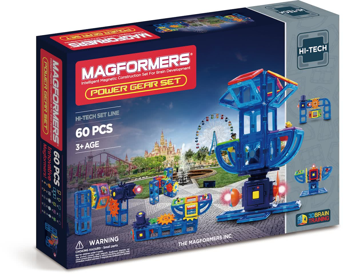 Magformers Power gear set