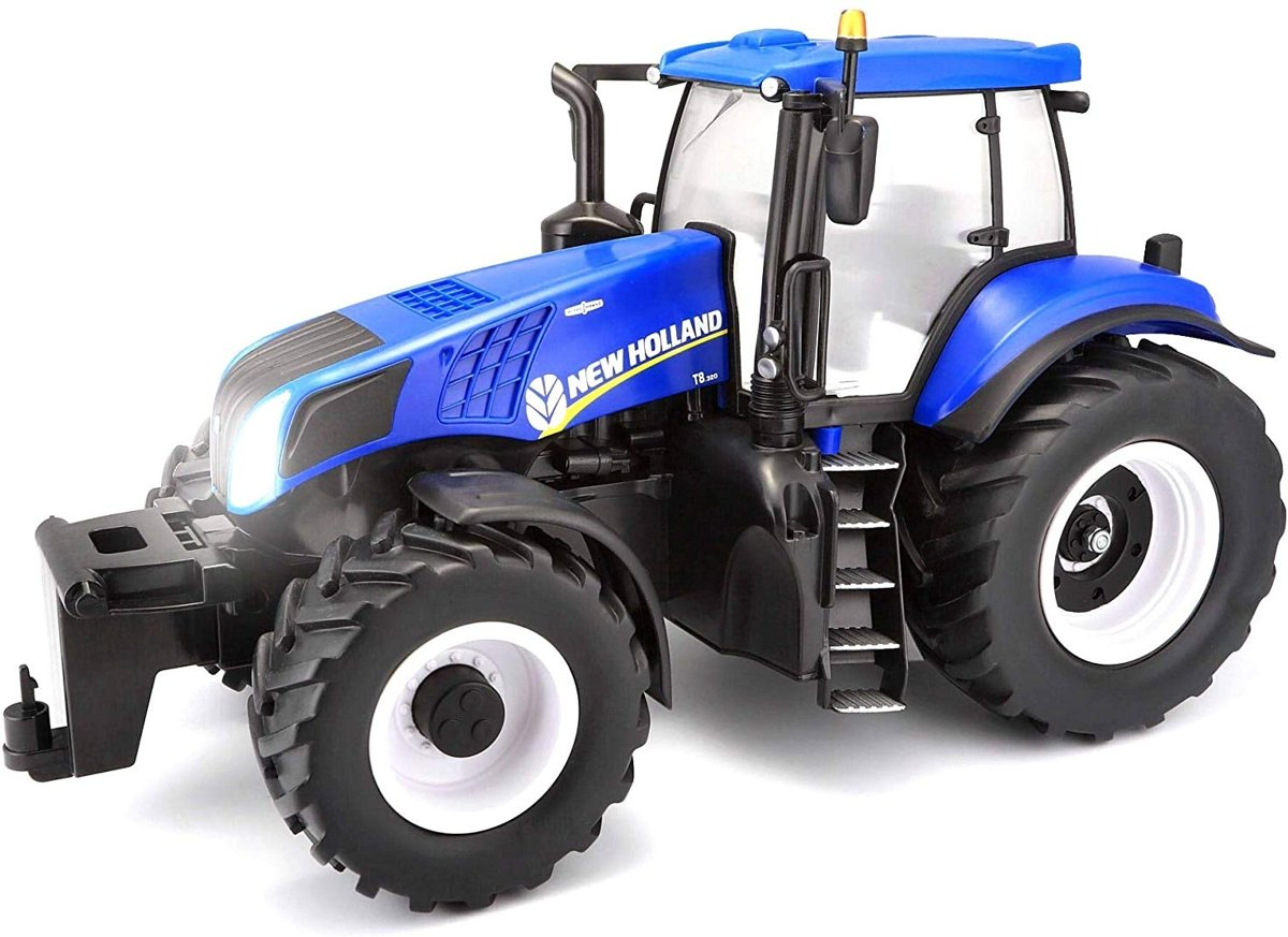 Rc Tractor New Holland 1:16 Blauw