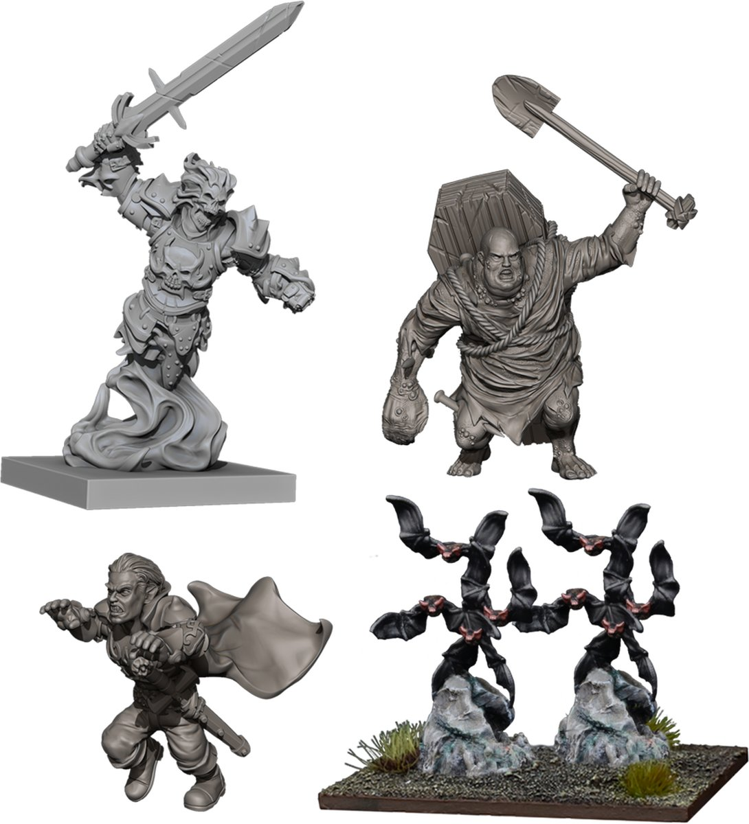 Kings Of War Vanguard Undead Warband booster
