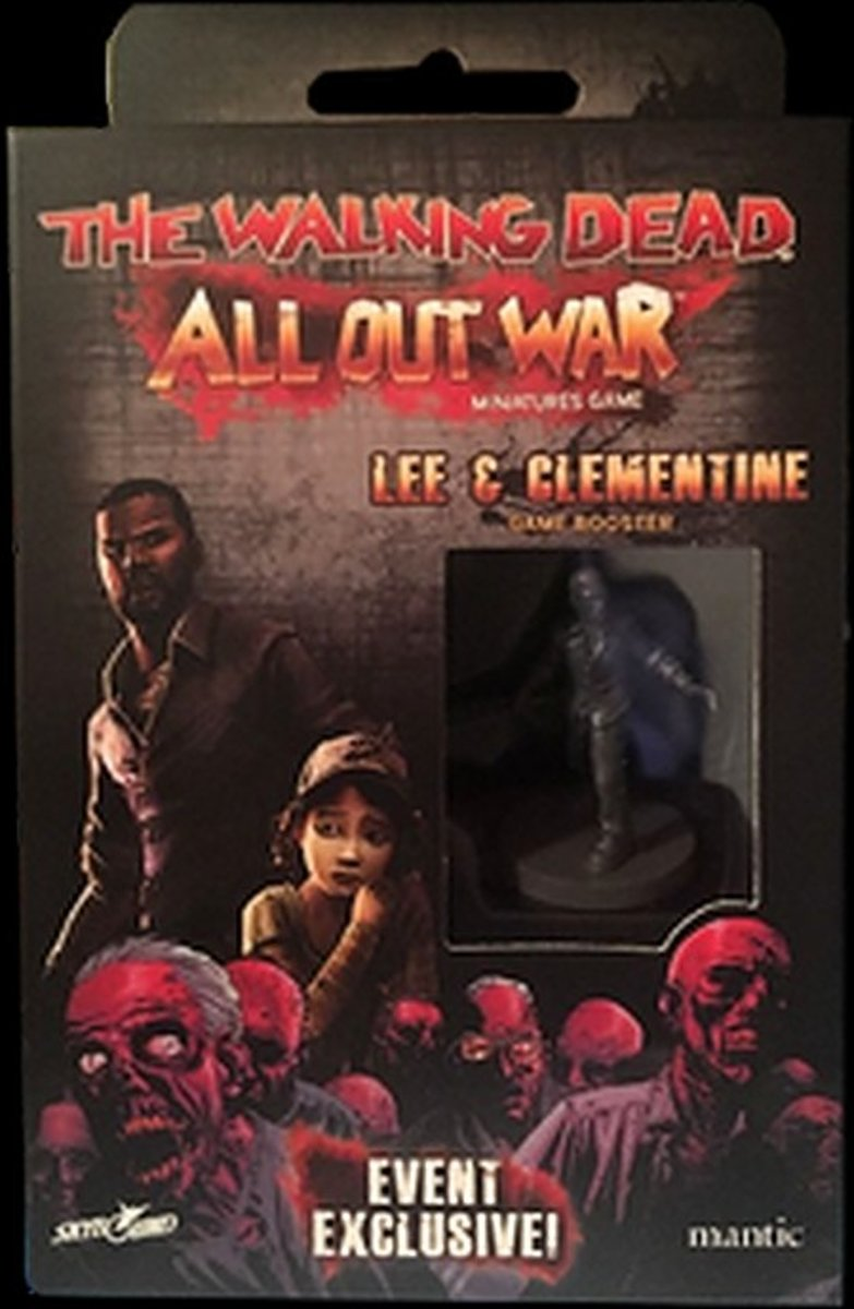 The Walking Dead: All Out War - Lee & Clementine