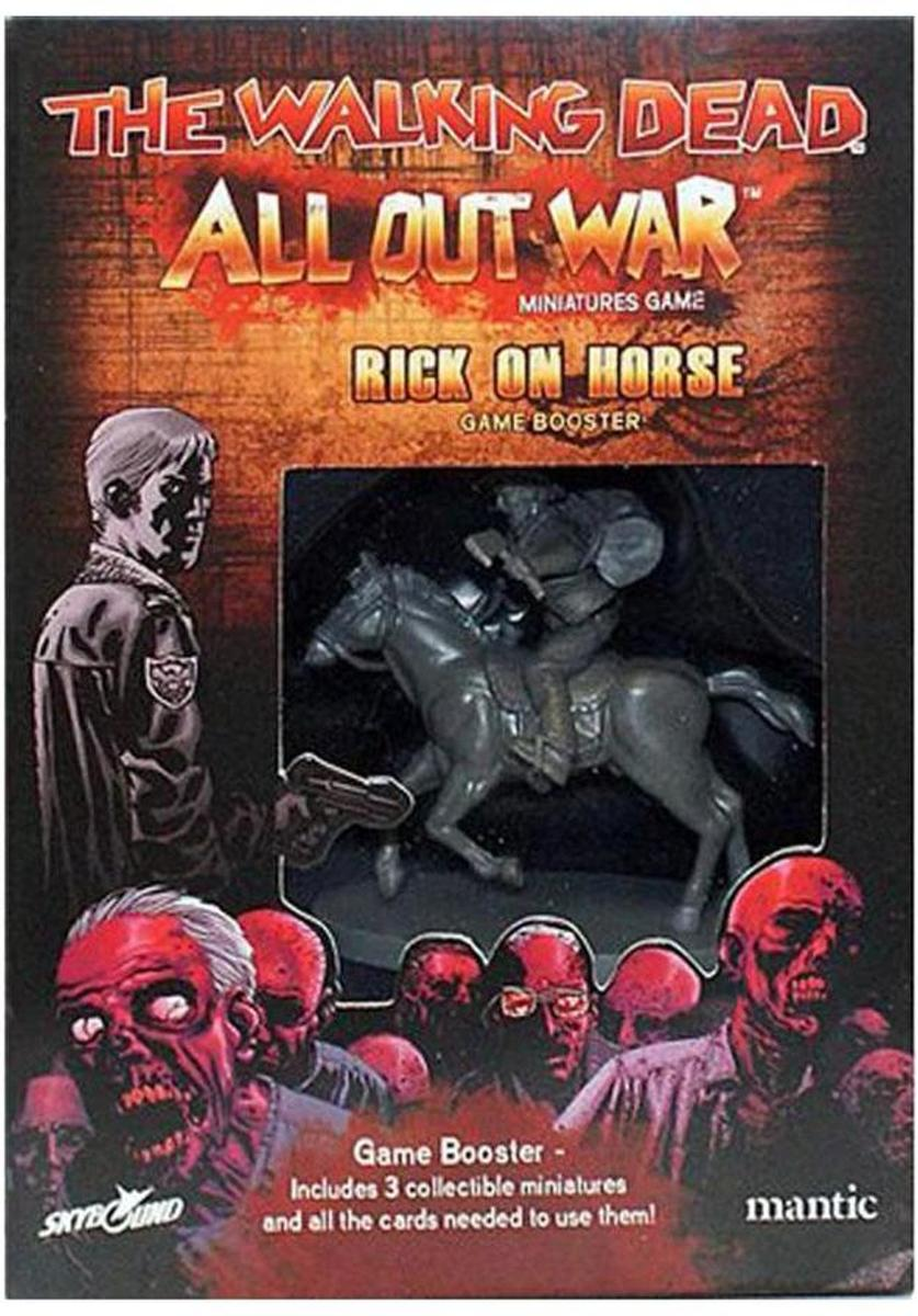 The Walking Dead: All Out War - Rick on Horse
