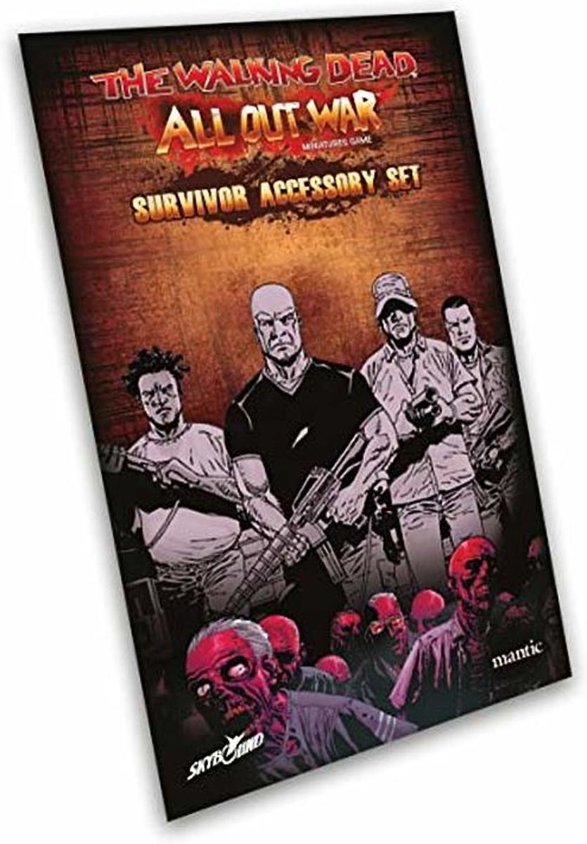 The Walking Dead: All Out War - Survivor Premium Accessory Set