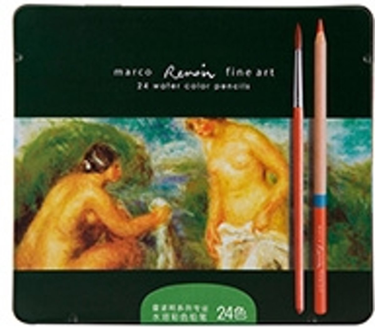 Marco Renoir Fine Art - 24 water colour pencils