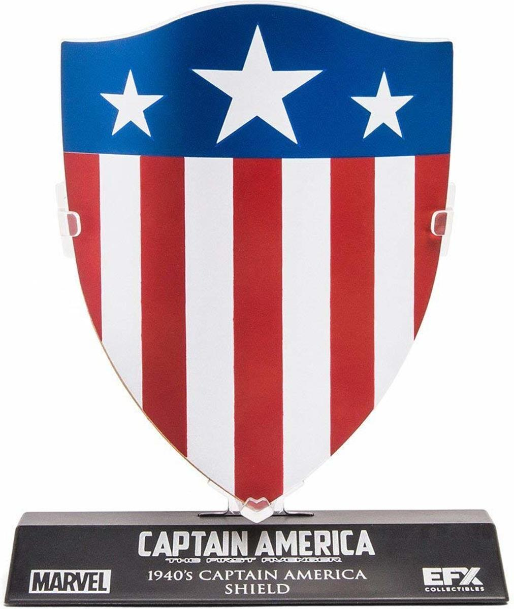Captain America Shield 1940s
